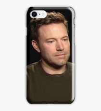 Sad Affleck iPhone Case/Skin