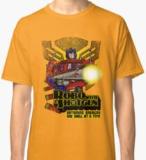 Robo With A Shotgun Classic T-Shirt