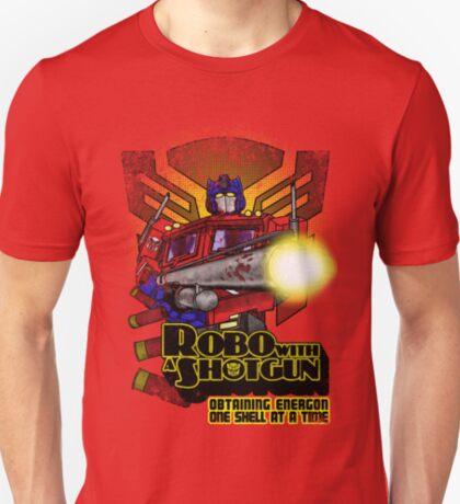 Robo With A Shotgun T-Shirt