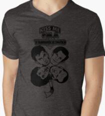 Kiss Me, I'm a Timelord Men's V-Neck T-Shirt