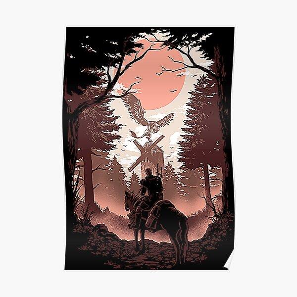 La chemise de la chasse sauvage Poster