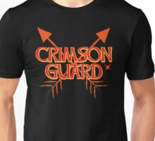 CRIMSON GUARD sigil with arrows crossed  Unisex T-Shirt