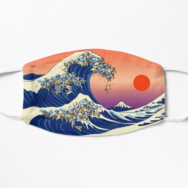 The Great Wave of Pug Mask