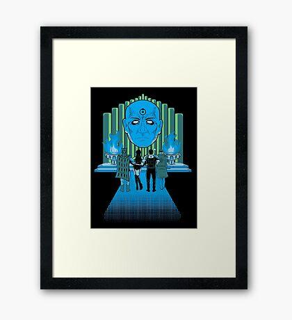 Watchmen Of Oz Framed Print
