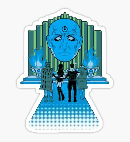 Watchmen Of Oz Sticker