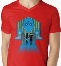 Watchmen Of Oz Mens V-Neck T-Shirt