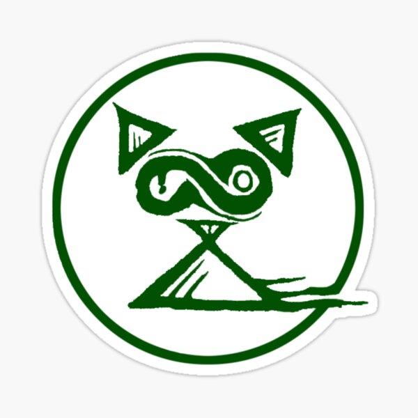 Green Koshka Logo Sticker