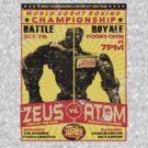 Atom vs. Zeus by superiorgraphix