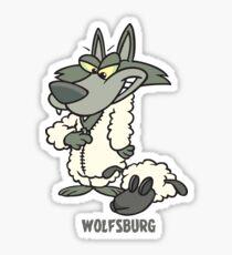 Wolfsburg, Wolf in Sheep's Clothing Sticker