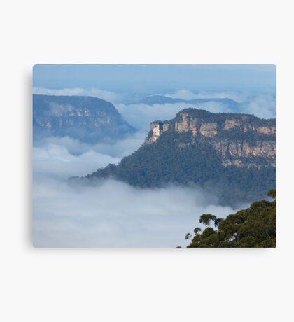 Blue Mtns Canvas Print