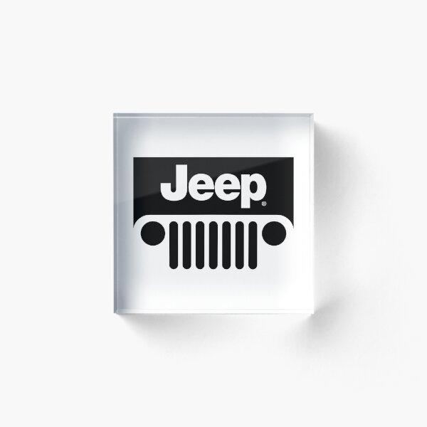 Jeep Merchant Acrylic Block