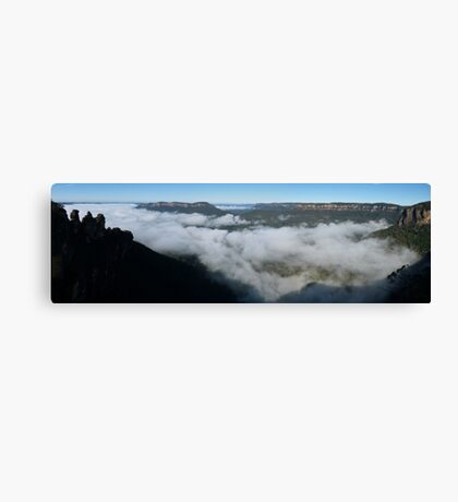 Blue Mtns panorama Canvas Print