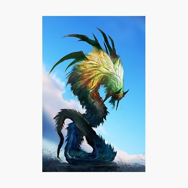 Quetzalcoatl Photographic Print