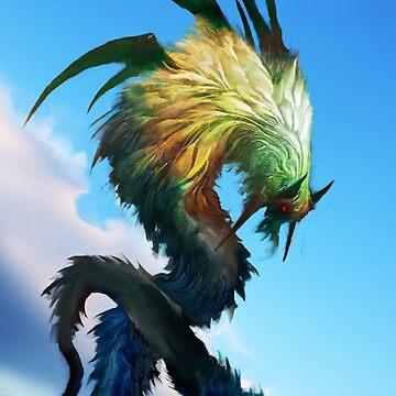 Quetzalcoatl by cobaltplasma