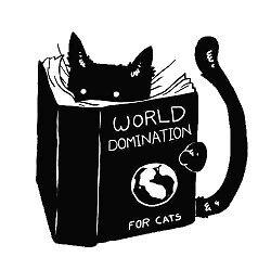 «Gato dominación del mundo» de Canyounotqueenb