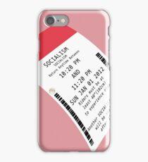 Fastpass Socialism iPhone Case/Skin