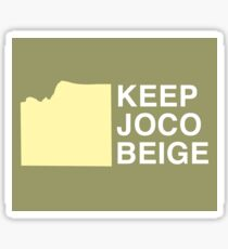 Keep JoCo Beige Sticker