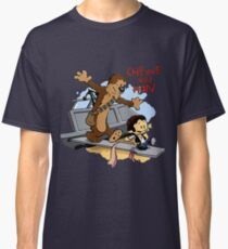 Calvin And Hobbes Parody Classic T-Shirt