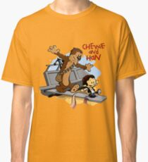 Calvin And Hobbes Parody Classic T-Shirt