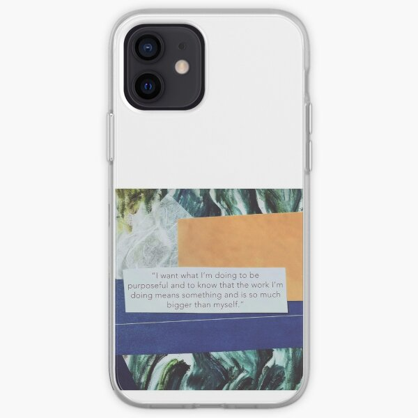 """Bigger Than Myself"" iPhone Soft Case"