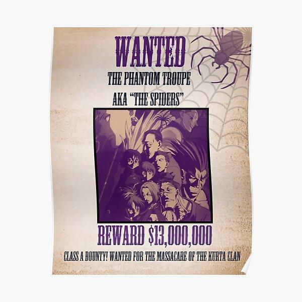 Les araignées Poster