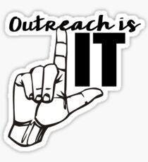 Outreach Sticker