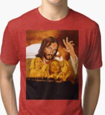 Jesus of Nazareth Tri-blend T-Shirt