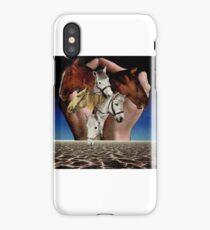 Taming Horses iPhone Case