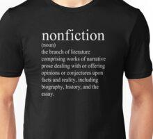 Non-Fiction Definition Unisex T-Shirt