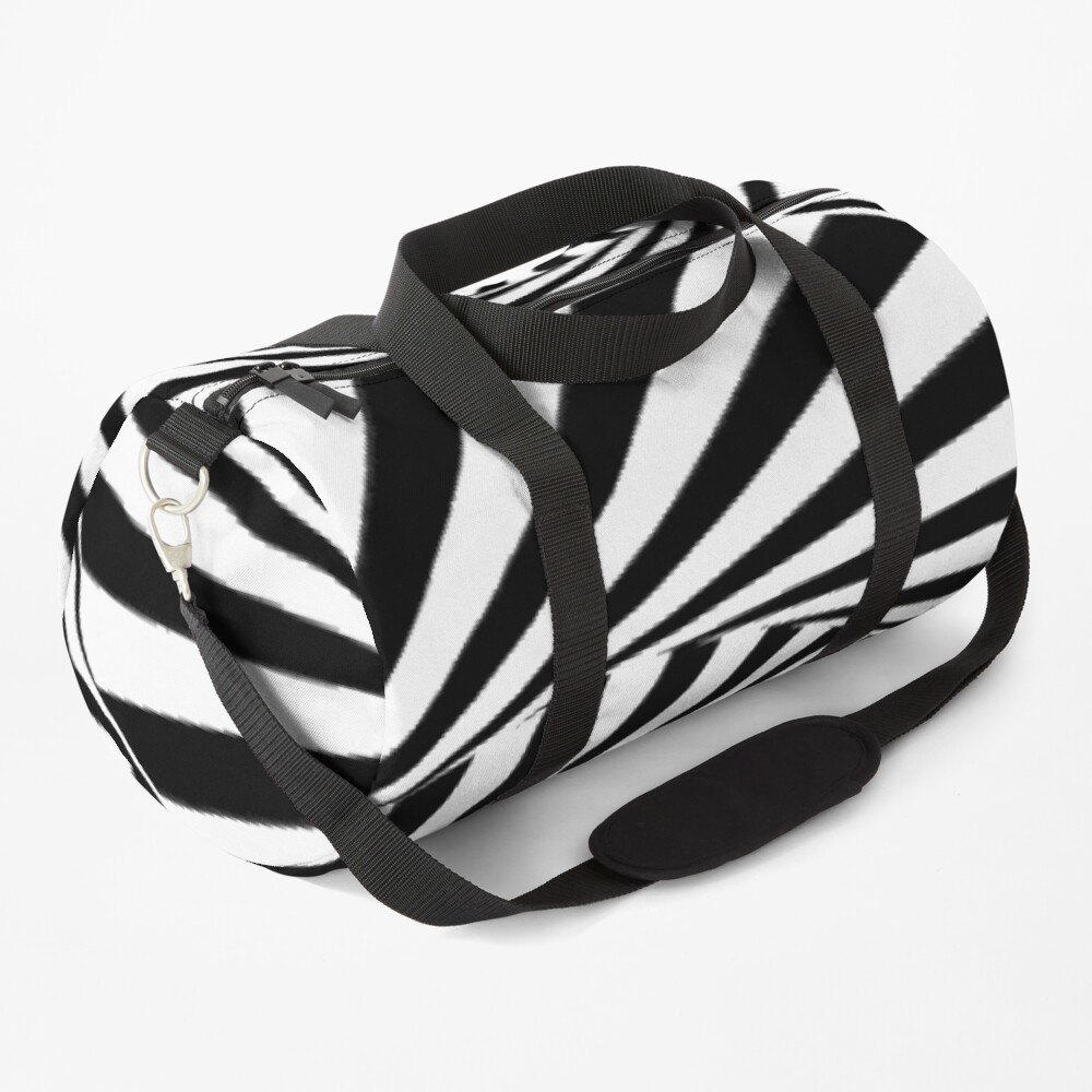 🍄 Optical Illusion, ur,duffle_bag_small_front,square