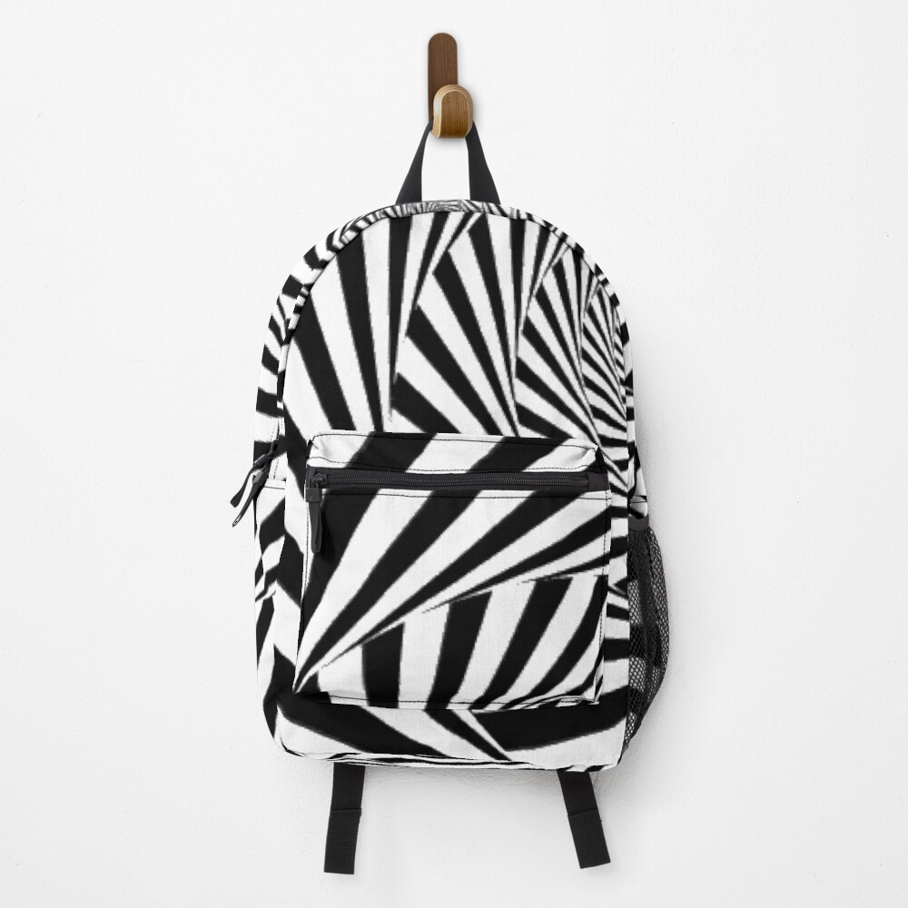 🍄 Optical Illusion, ur,backpack_front,square