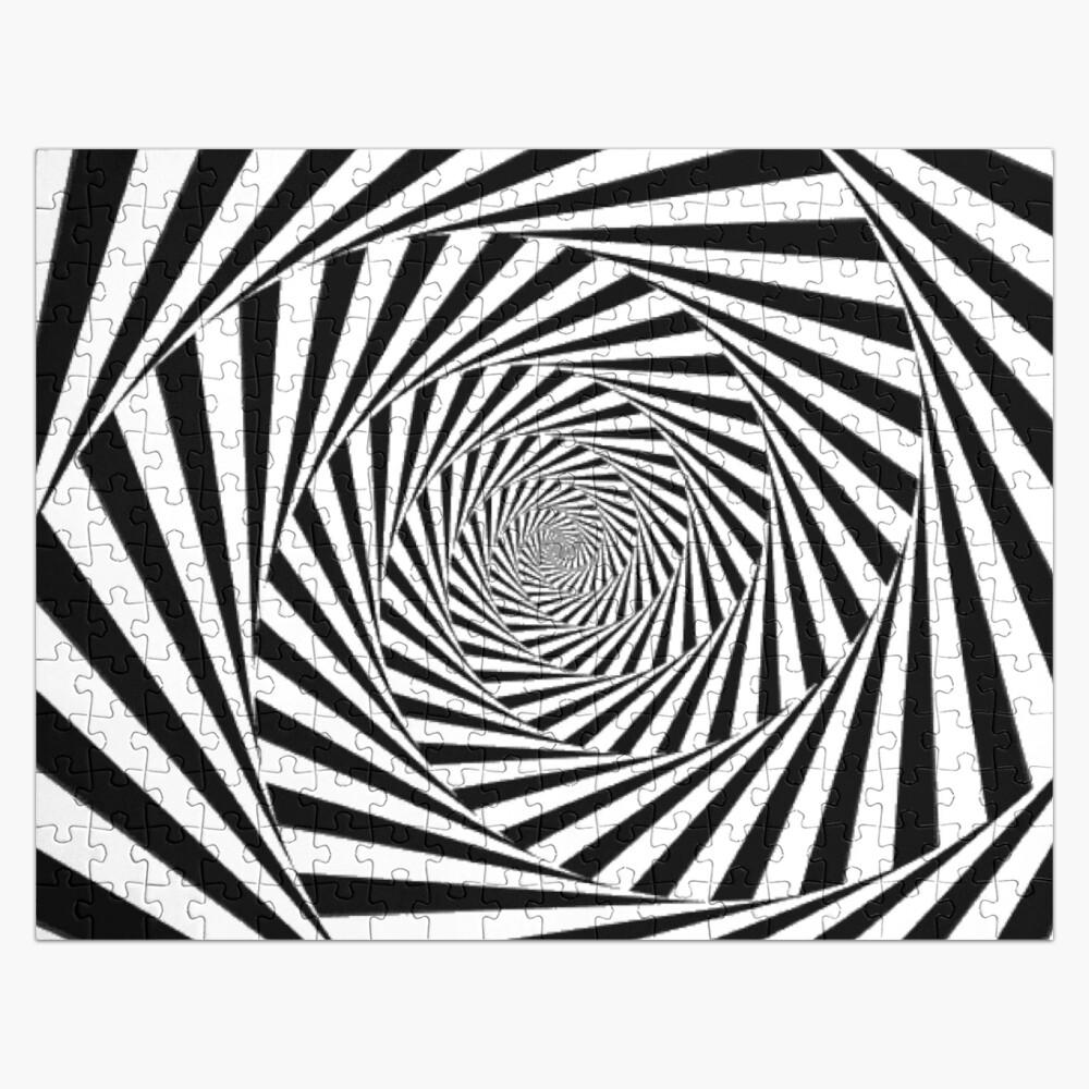 🍄 Optical Illusion, ur,jigsaw_puzzle_252_piece_flatlay,square_product