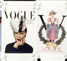 Vintage Vogue Sticker