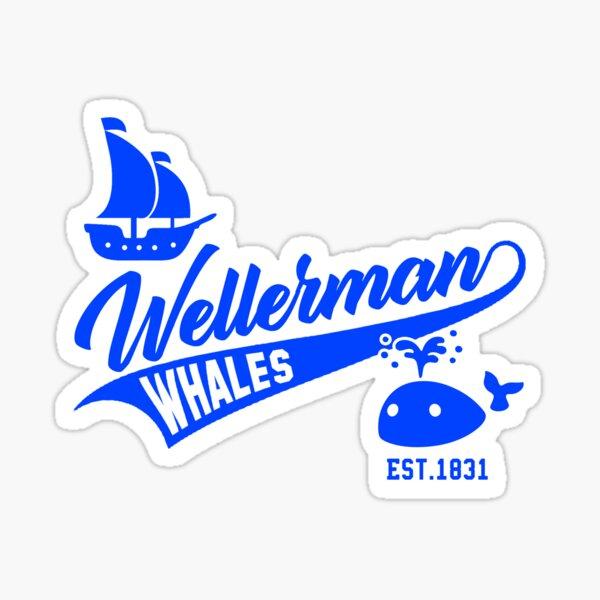 Wellerman Whales Baseball Team Sticker