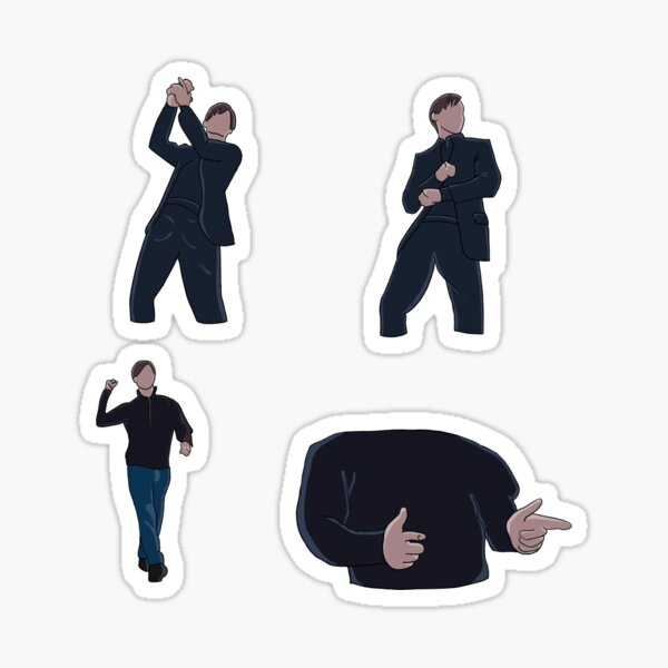 Bully Maguire Dancing Sticker
