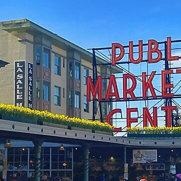 Pike Place Market in Spring by kchase