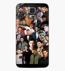 Jensen Ackles Collage Hülle & Klebefolie für Samsung Galaxy