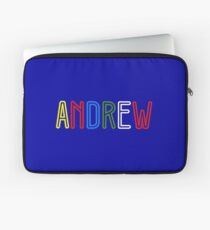 Andrew - Your Personified Merchandise Laptop Sleeve