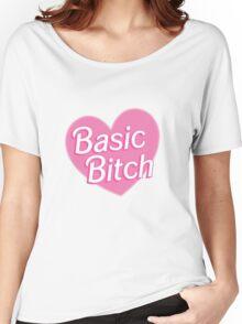 Basic Bitch Purple Women's Relaxed Fit T-Shirt
