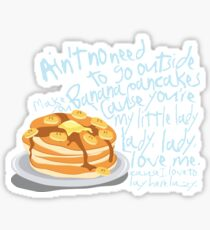 Banana Pancakes Sticker
