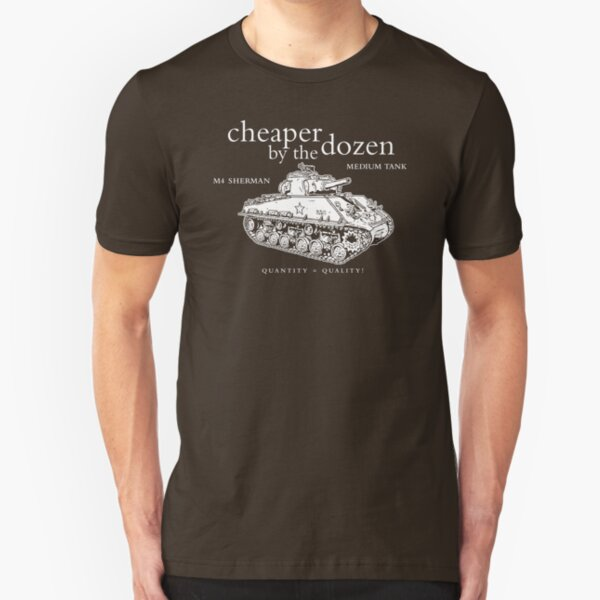M4 Sherman Tank Slim Fit T-Shirt