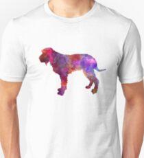 Blue Gascony Griffon in watercolor Unisex T-Shirt