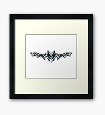 The One and Future Bat Framed Print