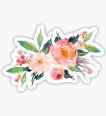 Aquarell Blumenstrauß Sticker
