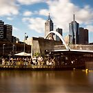 Ponyfish island afternoons - Melbourne Australia by Norman Repacholi