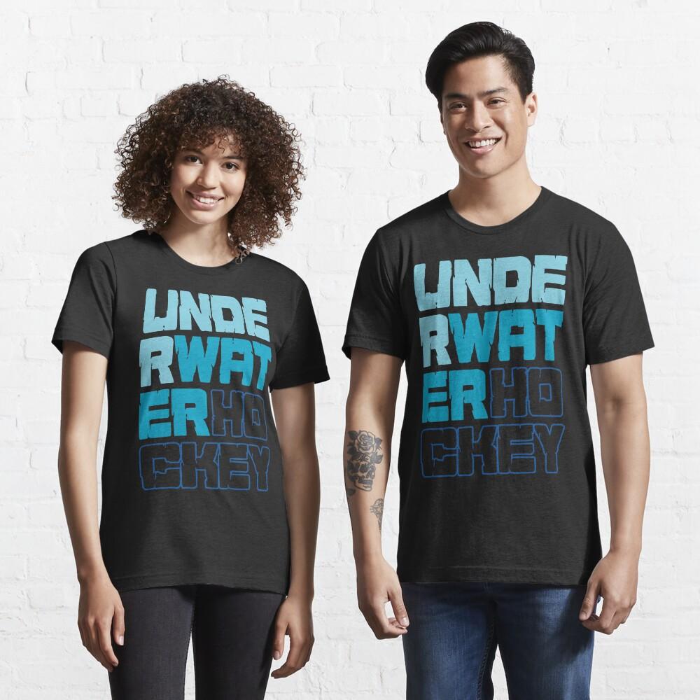 Underwater Hockey Words Essential T-Shirt