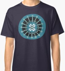blooms teal Classic T-Shirt