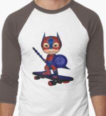Masked Avenger Men's Baseball ¾ T-Shirt