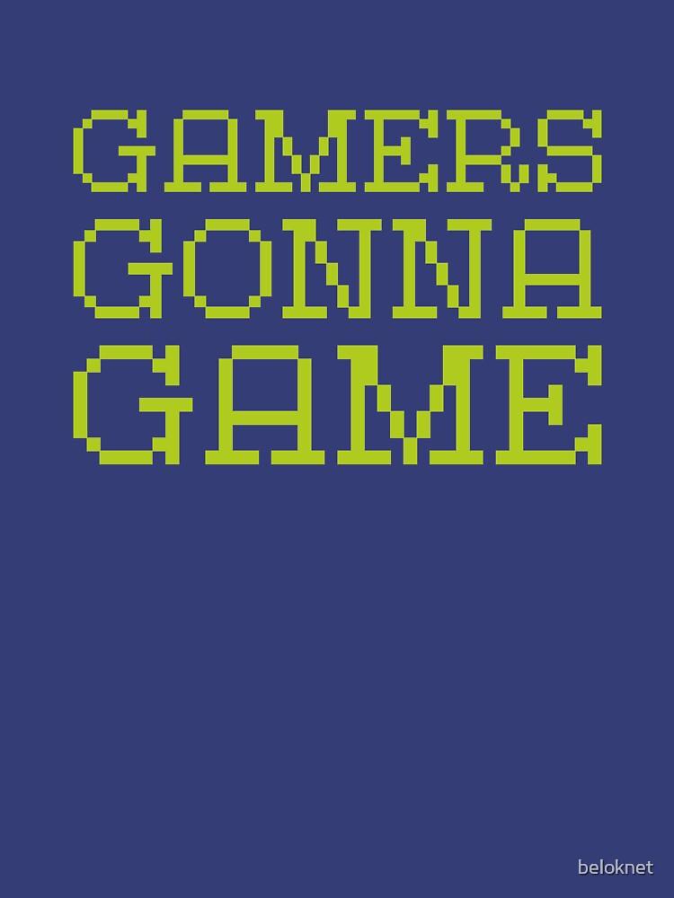 «Les joueurs vont jeu» par beloknet