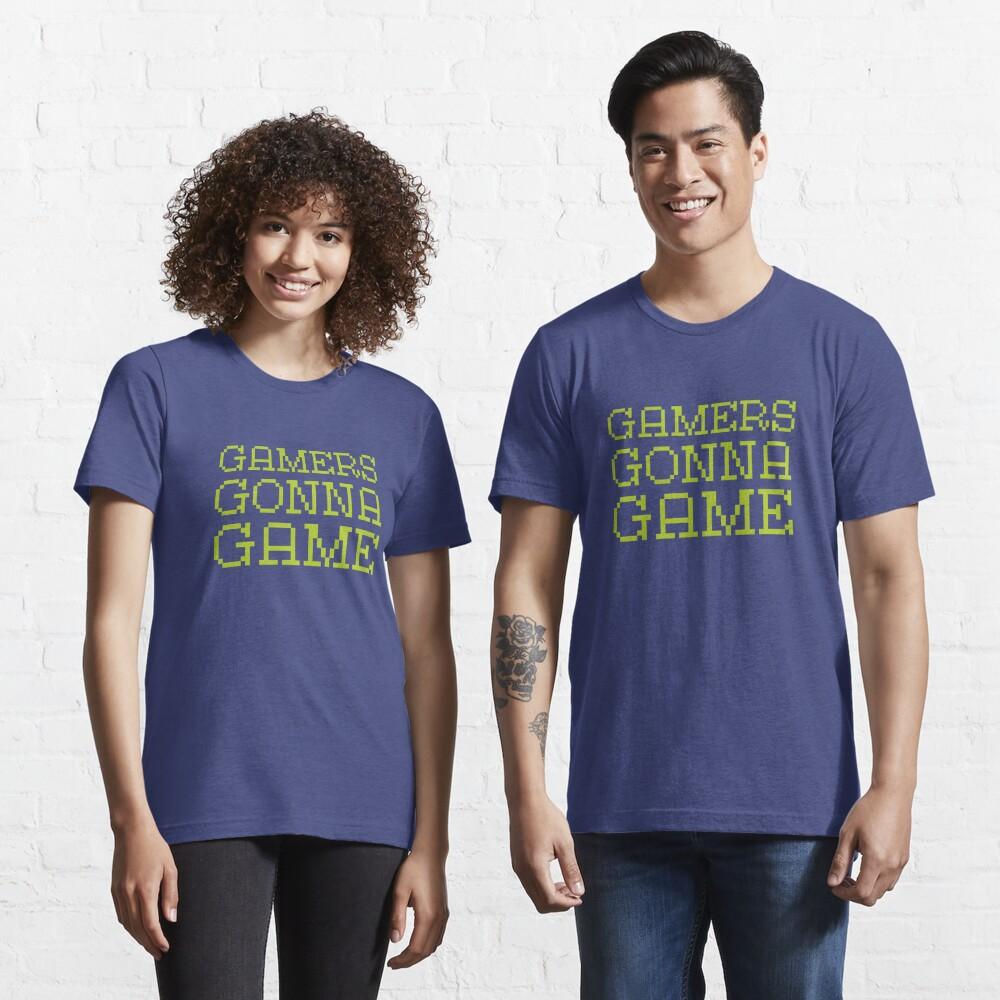T-shirt essentiel «Les joueurs vont jeu»
